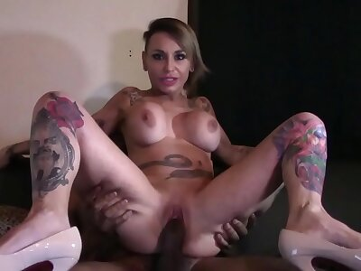 gina snake teaches me even so spanish pussy squirts be expeditious for fixed black dick PT2