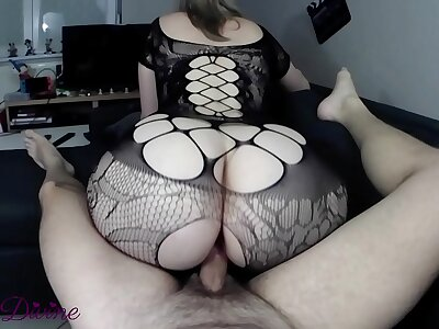 A milf on touching ultra sexy lingerie gets fucking the brush telling bore reverse cowgirl! French Amateur Nini Godly !