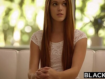 BLACKED Redhead Kimberly Brix Cunning Broad in the beam Black Cock