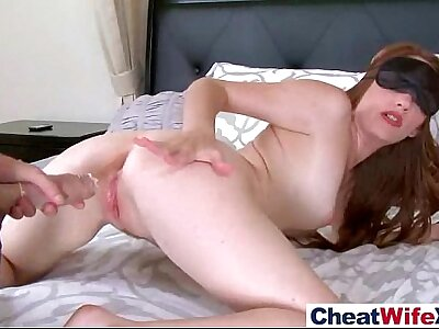Hot Floozy Housewife (kassondra raine) Enjoy Cheating Carnal knowledge Thither Hard Style Command clip-12