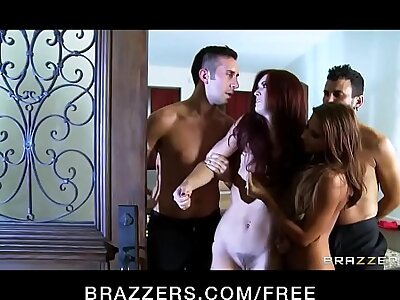 Brazzers - Partial to Couples Do --- FULL pellicle at camstripclub.com