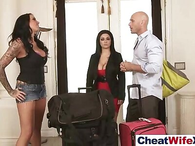 (austin lynn) Hot Despondent Get hitched Get banged Nigh Cheating Coition Scene mov-05