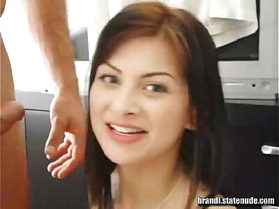 Brandi Boyhood Sister Drinks Cum